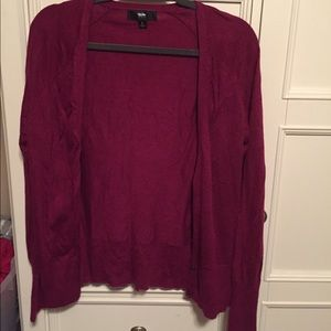 Mossimo Buttoned Long Sleeve Cardigan - size L
